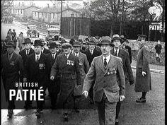 Catterick Camp, North Yorkshire - Sapper Veterans (1934) #British_Pathe #Yorkshire