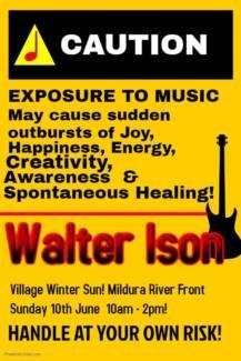 Walter Ison Live At Village Winter Sun Mildura River Front Winter Sun, Centre, Events, River, City, Places, Cities, Rivers, Lugares