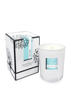 Archipelago Sweet Pea Hand-Poured Candle