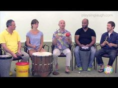 Kalani talks about what a drum-a-long is and demonstrates ways to lead one. This video is from the Developmental Community Music (DCM) program. http://playsi...