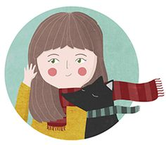 Lauryn Green illustration - love this simple web site
