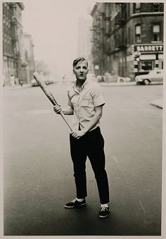Diane Arbus - Teenager with a Baseball Bat