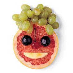 Grapefruit faces!