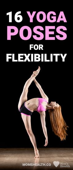 Yoga Poses for Flexibility - Master the Splits and Cobra Pose! Check here yoga for flexibility beginners poses and learn with the best yoga for flexibility video channels. Stretching your muscles is important to avoid injuries when you practice yoga, and to relieve stress and tension. #yoga #yogainspiration