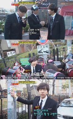 [Spoiler] Yoo Jae Suk apologizes to Lee Seung Gi on 'Running Man'