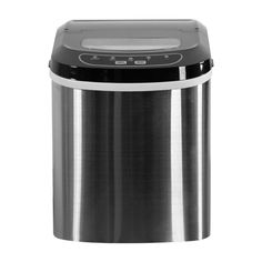 Modern Air Plus   Luma Comfort Stainless Steel Portable Clear Ice Maker    Must Haves!   Pinterest   Stainless Steel, Steel And Bar