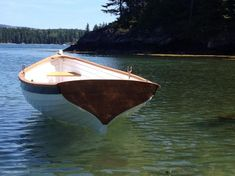 Beautiful wooden boats made right here in Maine at Cottrell Boatbuilding. Maine's largest builder of small wooden boats. Wooden Row Boat, Wooden Sailboat, Duck Boat Blind, Boat Crafts, Model Boat Plans, Electric Boat, Boat Projects, Boat Interior, Boat Dock