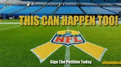 Please repin!  Petition · NFL Comissioner Roger Goddell: DEAR NFL - Please Support Childhood Cancer Awareness by going GOLD! · Change.org football