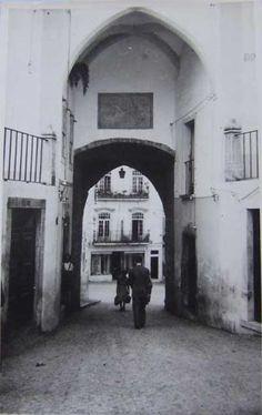 Antes e Depois - Arco da Praça | Portal Elvasnews