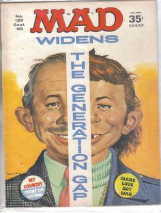 Mad Magazine No.129 September 1969