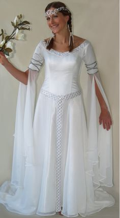 Dresses Go from ordinary to extraordinary in our women's celtic wedding dress plus size. This seasons plus size dresses embrace all the latest trends from Pagan Wedding Dresses, Wedding Dresses Plus Size, Wedding Dress Styles, Designer Wedding Dresses, Bridal Dresses, Wedding Gowns, Bridesmaid Dresses, Renaissance Wedding, Celtic Wedding