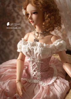 :: Crafty :: Doll :: Clothes 2 :: nYID_Girl Rosinetta set. Одежда BJD