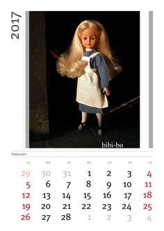 Il calendario 2017 di bibi-bo! El calendario 2017 por bibi-bo! 日历2017年周笔畅博! Календарь 2017 Биби-бо!