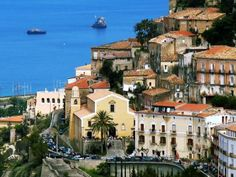 Amantea, Southern Italy where my family is from.