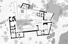 Image 27 of 34 from gallery of Desert Courtyard House / Wendell Burnette Architects. Ground Floor Plan