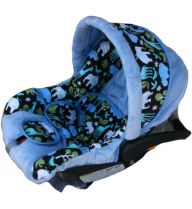 Cat Canopy 5 Pc Whole Caboodle (Hunter) Baby Infant Car Seat ...