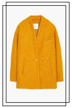 26 Statement Coats You'll Wear All Winter Long #refinery29  http://www.refinery29.com/winter-statement-coats#slide-6  Cocoon yourself in a bright hue to remind yourself of warmer days ahead. ...