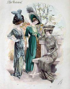 Images anciennes de femmes