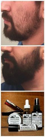 100% Natural Organic Moustache Oil Beard Wax Balm Hair Beard Growth Tr – myshoponline.com