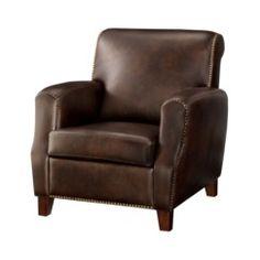Alex Club Chair with Nailhead Target $224