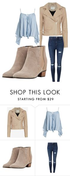 """""""Fall Time"""" by owlsarelifeheart ❤ liked on Polyvore featuring IRO, Sans Souci, Golden Goose, Miss Selfridge and denim"""