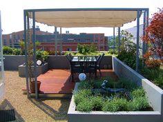 Roofgarden Centre Ceramique Maastricht Netherlands by Guy Wolfs