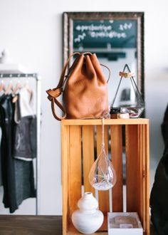 Parc Boutique NE Mpls / Photo via Canary Grey Photography. | i just want that bag!