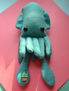 Squid Plush Whoa! This gives me an idea! (<JC) what about using a glove as the base for our squids?