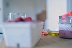 Skladniki do produkcji domowego peelingu malinowego http://bit.ly/2bnIrbX