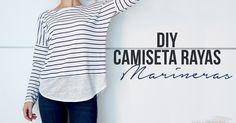 miscelánea diy: DIY | Camiseta rayas marineras