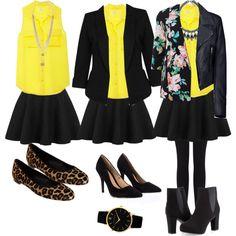 Looks com blusa amarela 2