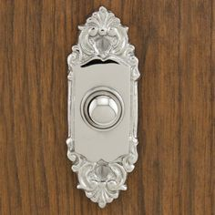 Gorgeous, well priced home details. Silvius Brass Doorbell