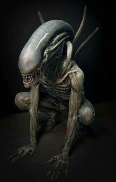 (The Night) Settara - Shadow Demon Alien Vs Predator, Arte Alien, Alien Art, Science Fiction, Arte Horror, Horror Art, Alien Film, Saga Art, Giger Alien