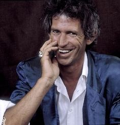 Keith Richards in New York, 1987, by Paul Natkin.