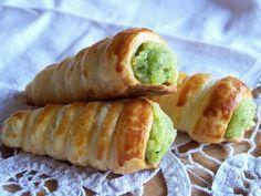 :Cannoncini salati alla crema di zucchine