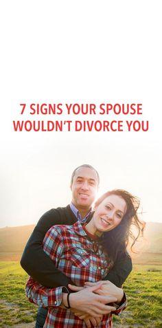 7 signs your spouse won't divorce you
