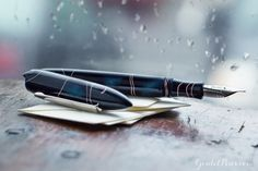 Edison Nouveau Premiere Fountain Pen - Midnight Thunder (Fall 2015)