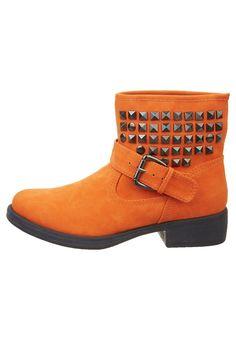 Cowboylaarsjes / Motorlaarsjes - Oranje