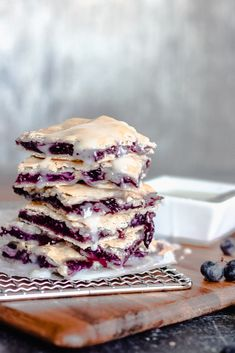 Blueberry Slab Pie Bars — Lolo's Desserts- simple and accessible recipes for the home cook