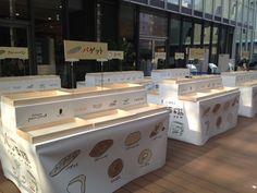 ヒナタマルシェのパンイベント「パン図鑑」@西部ガスショールーム