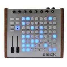 Livid Instruments Block MIDI Control Surface   Para control de luces