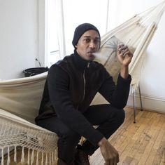 Sean John Portrait Sitting On His Hammock