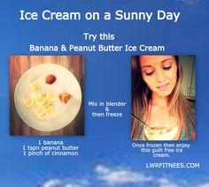 Skinny Ice cream, just 3 ingredients