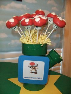 Super Mario Bros-  I bet @Amy Heaton-Botvin could make these for me!