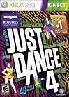 Just Dance 4 (Microsoft Xbox 360 2012)