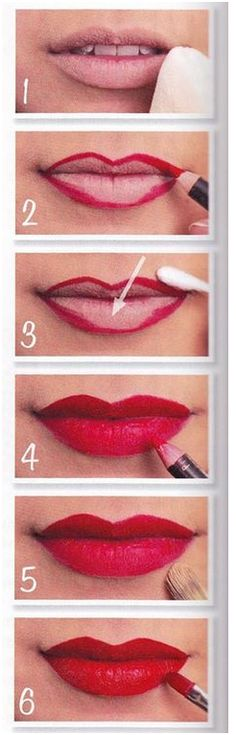 Red lipstick is classic, elegant and versatile. Learn how to apply red lipstick perfectly.
