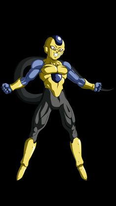 Frost golden- I'm actually into this with his color scheme. Looks nice. Dragon Ball Z, Frieza Race, Fnaf Wallpapers, Digital Art Fantasy, Character Drawing, Anime Characters, Fan Art, Cartoon, Kakashi