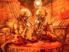 Nationally-published comic book writer & illustrator Daniel Crosier is our zombie concept judge. http://www.deviantart.com/?qh=1=daniel+crosier — with Daniel Crosier.