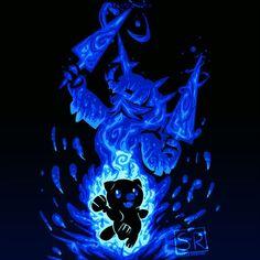 The Samurai Within Anime & Manga Poster Print Kalos Pokemon, Pokemon Gif, Pokemon Eeveelutions, Pokemon Fan Art, Pokemon Stuff, Festa Pokemon Go, Samurai, Popular Pokemon, Pokemon Starters
