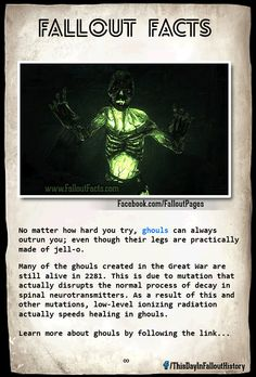 fallout how ghouls are made